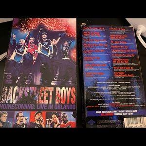 90's Vintage VHS Backstreet Boys Live In Concert